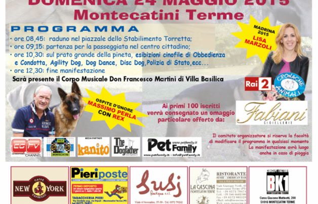 Dog pride day a Montecatini Terme